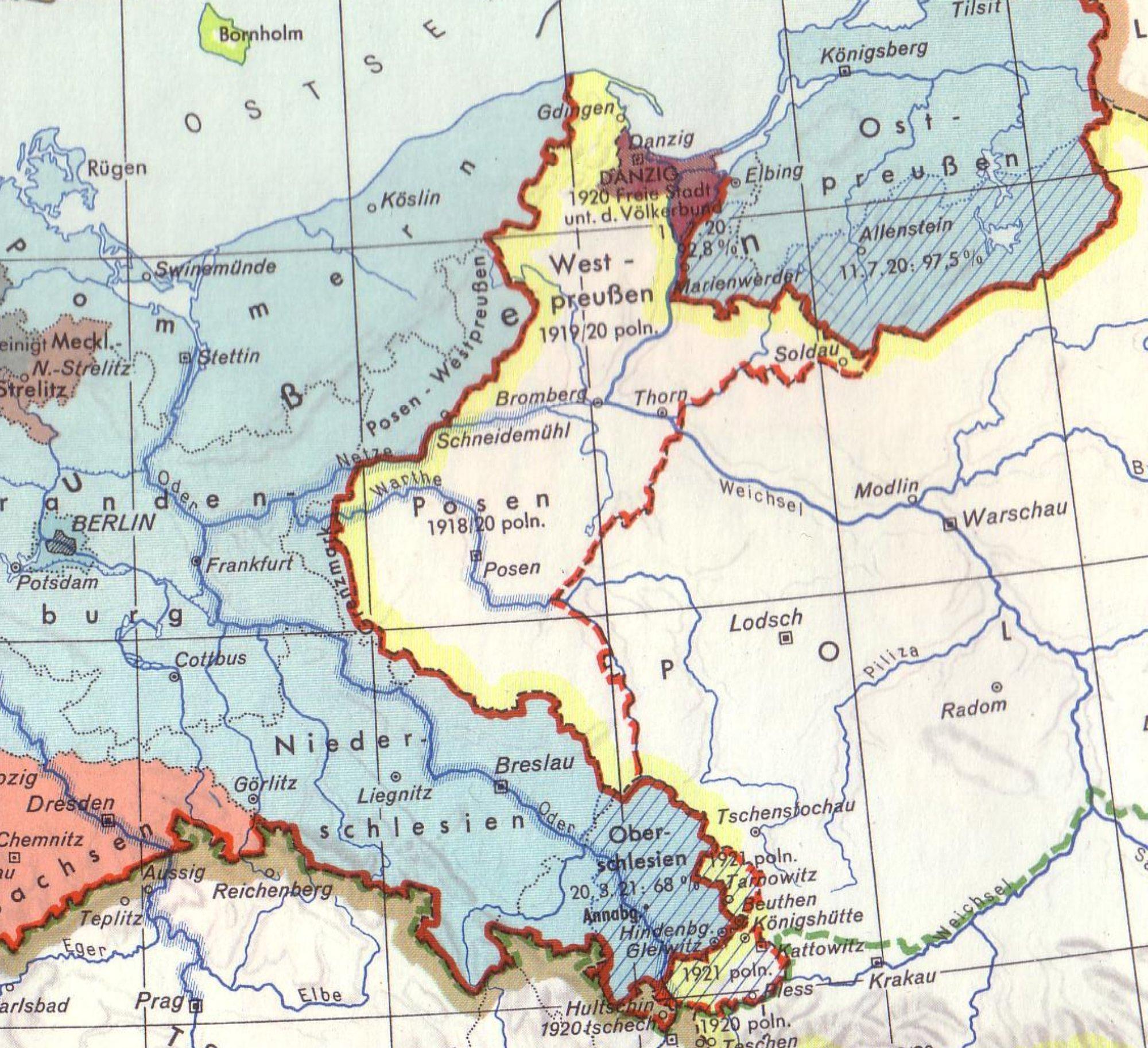 Deutsche Ostgebiete (vor 1945)