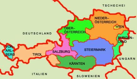 Österreichische Karte