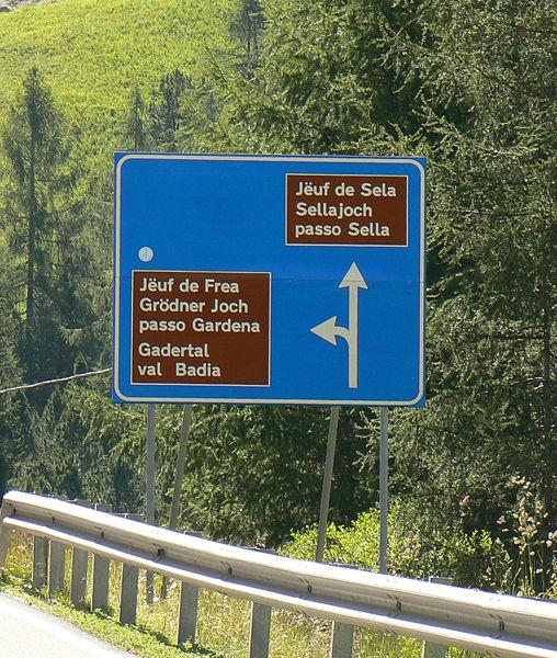 Ortsnamen in Südtirol
