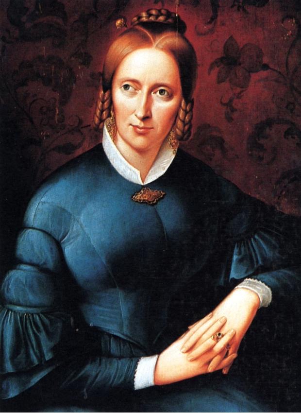 Porträt Annette von Droste-Hülshoff