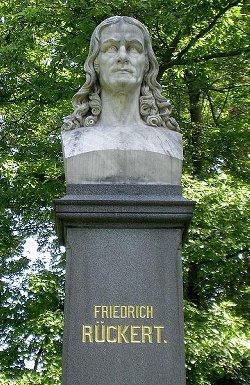 Rückert-Denkmal in Coburg-Neuses