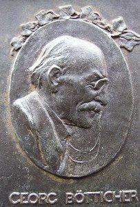 Portraitrelief Georg Bötticher