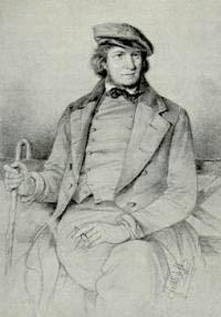 Portrait Hoffman von Fallersleben