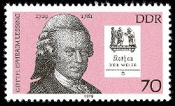 Lessing Briefmarke