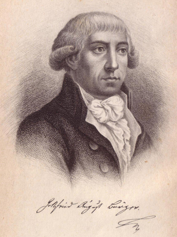 Portrait G.A. Bürger