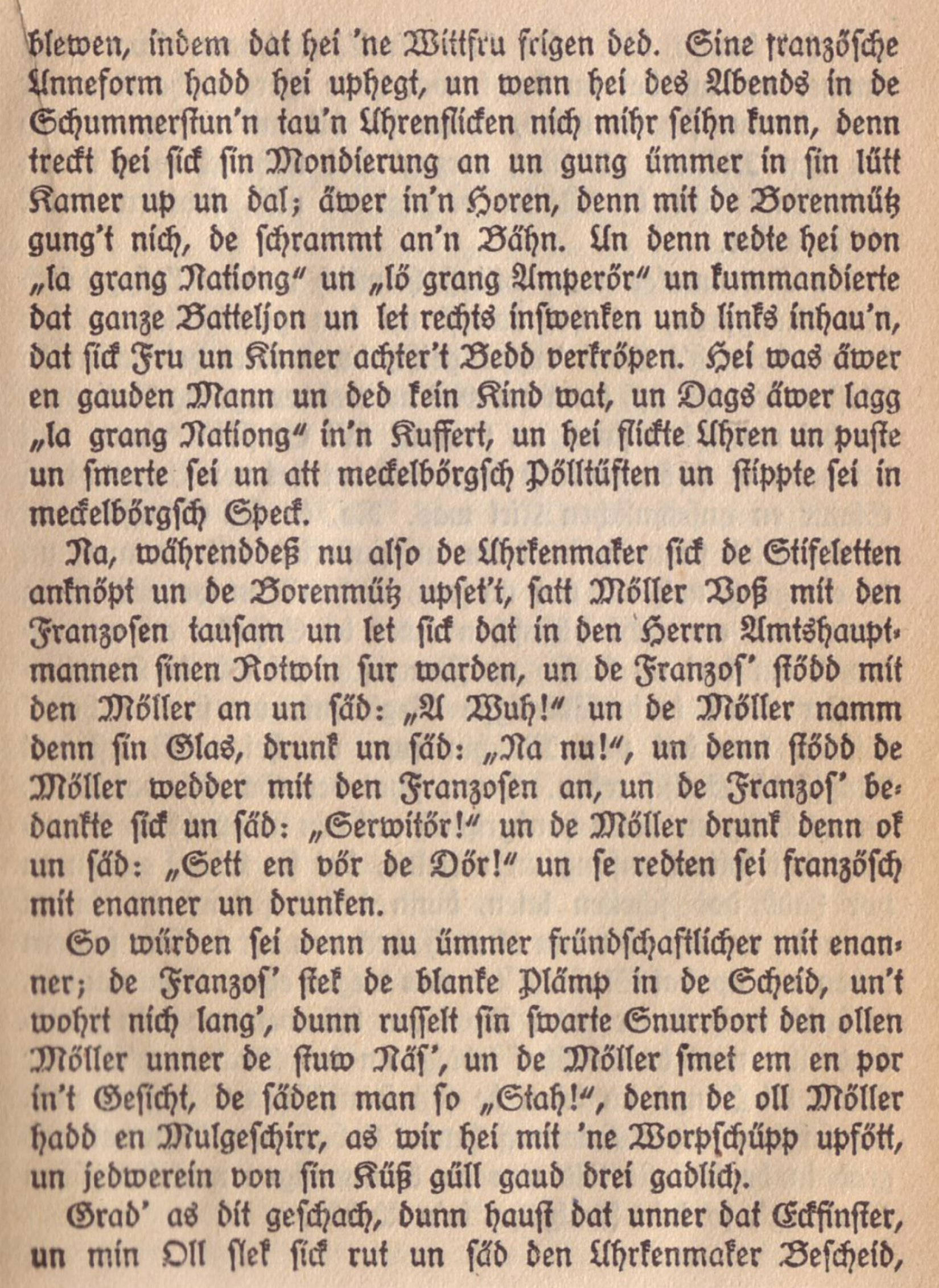 "Auszug aus ""Ut de Franzosentid"""