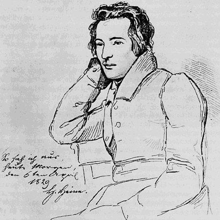 Porträt Heinrich Heine