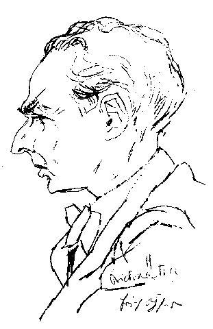 Portrait Erich Kästner
