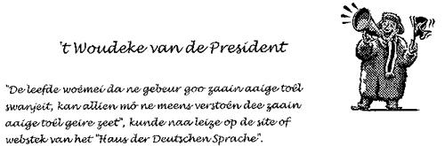 't Woudeke van de President