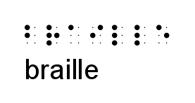 Braille in Braille