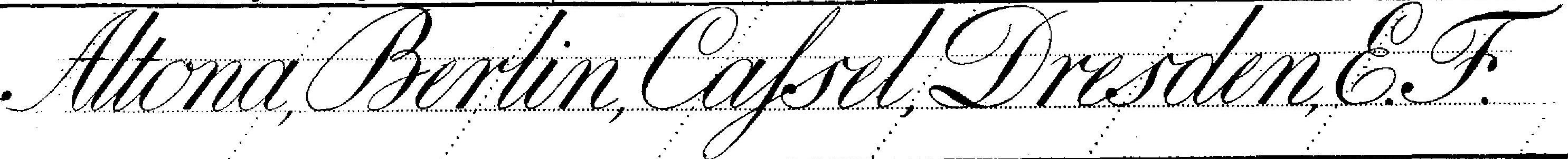 Latein-Schreibschrift