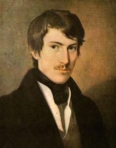 """""""Nikolaus Lenau (Friedrich Amerling)"""" von Friedrich von Amerling – Gemeinfrei über Wikimedia Commons"""