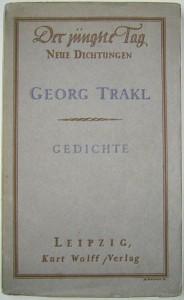 Georg_Trakl_-_Erstausgabe_1913
