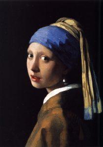 Das Mädchen mit dem Perlenohrgehänge, etwa 1665 (Von Johannes Vermeer – Gemeinfrei)