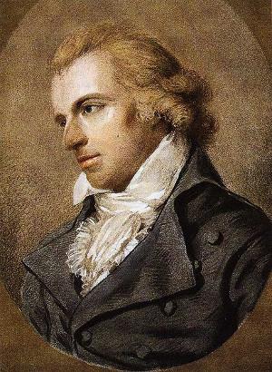 Friedrich Schiller porträtiert von Ludovike Simanowiz im Jahr 1794